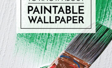 About Paintable Wallpaper