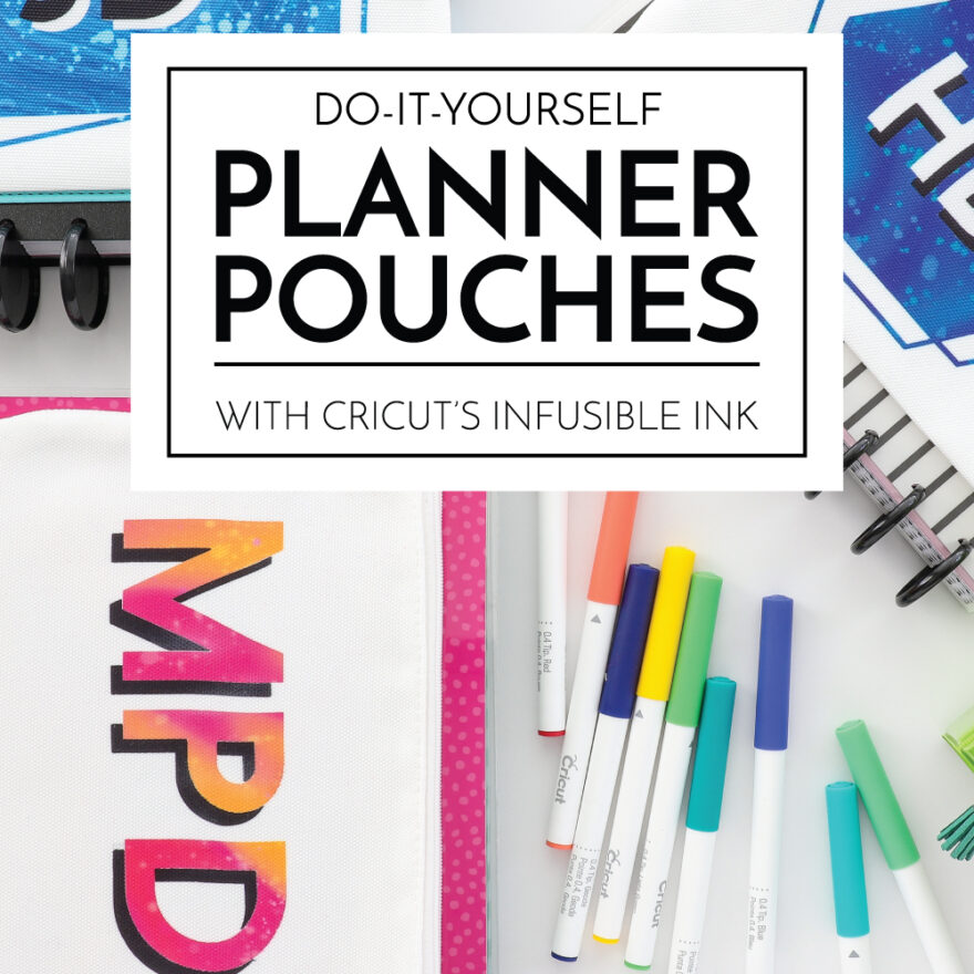 DIY Planner Pouches