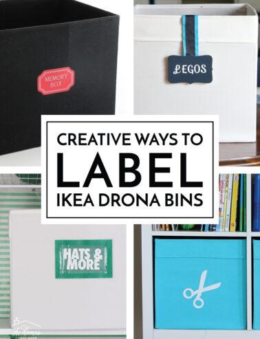 Label IKEA DRONA