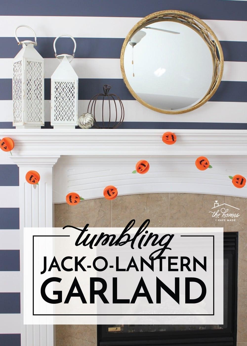 Jack-O-Lantern Garland