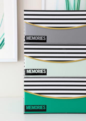 Decorative Memory Boxes