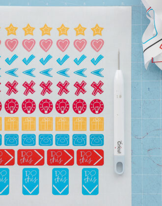 How to Use Print Then Cut On A Cricut