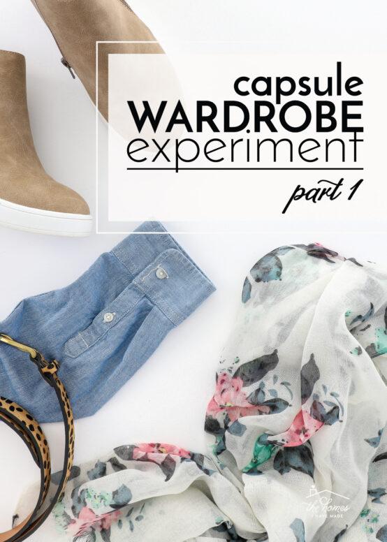 Capsule Wardrobe Experiment