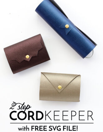 DIY Cord Keeper