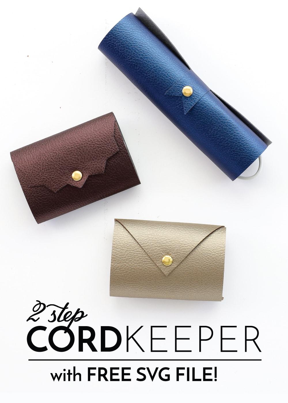 DIY Cord Keepers