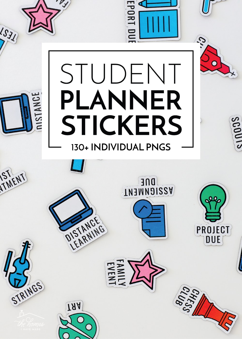 Student Planner Stickers