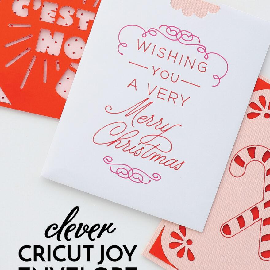 Cricut Joy Card Envelope Hack