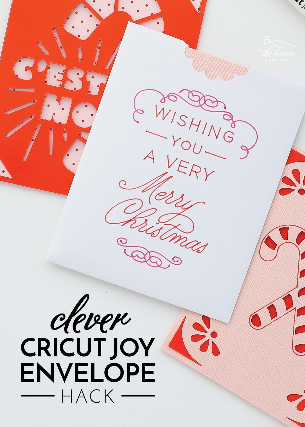 Cricut Joy Card Envelope Hack