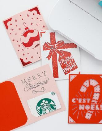 Cricut Joy Card Into a Gift Card Holder