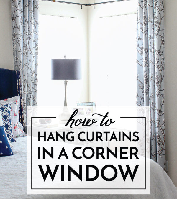 How to Hang Curtains In A Corner