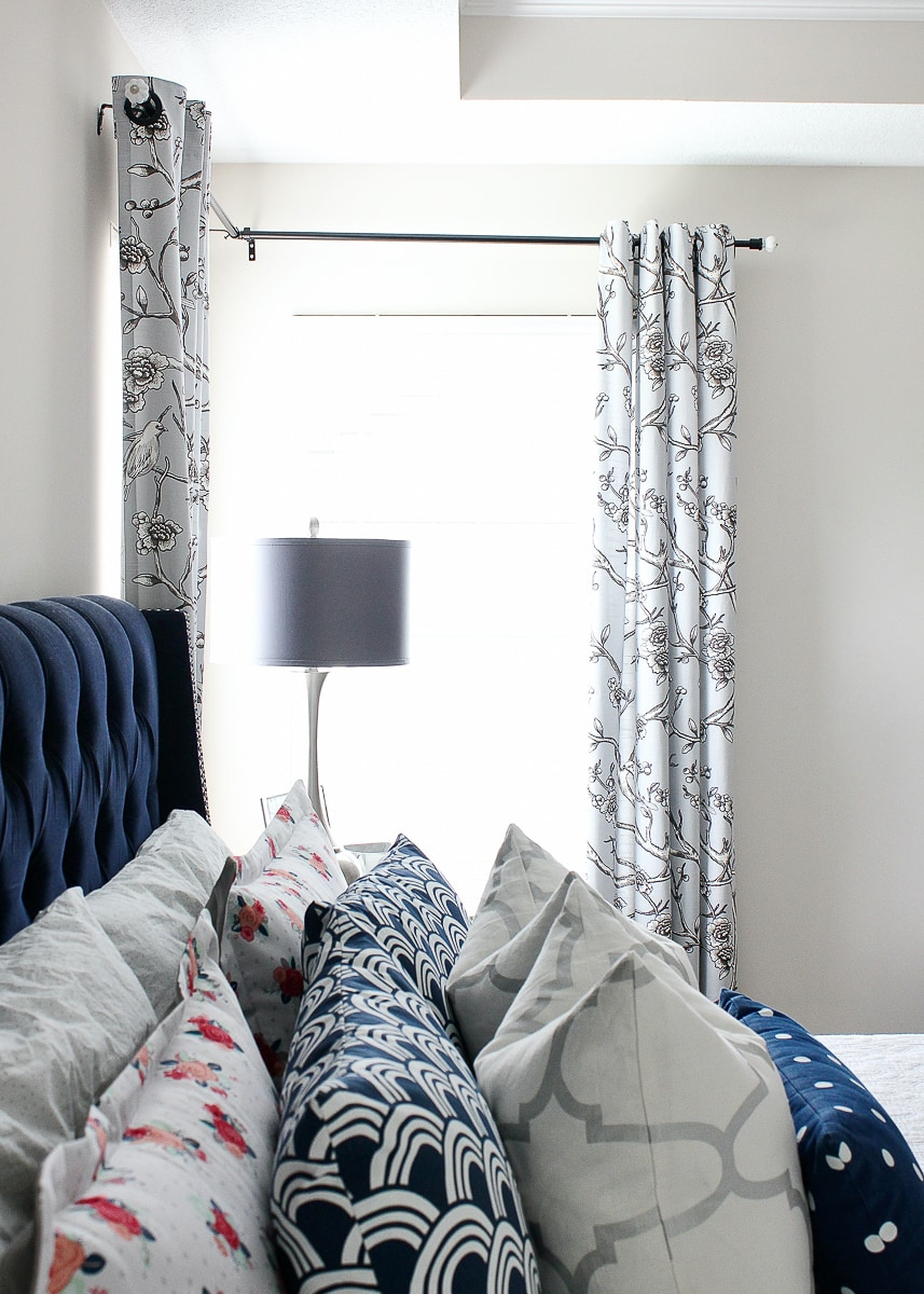 How To Hang Curtains In A Corner Window The Homes I Have Made