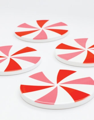 Coasters with Cricut Infusible Ink
