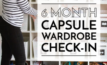 Capsule Wardrobe Check In