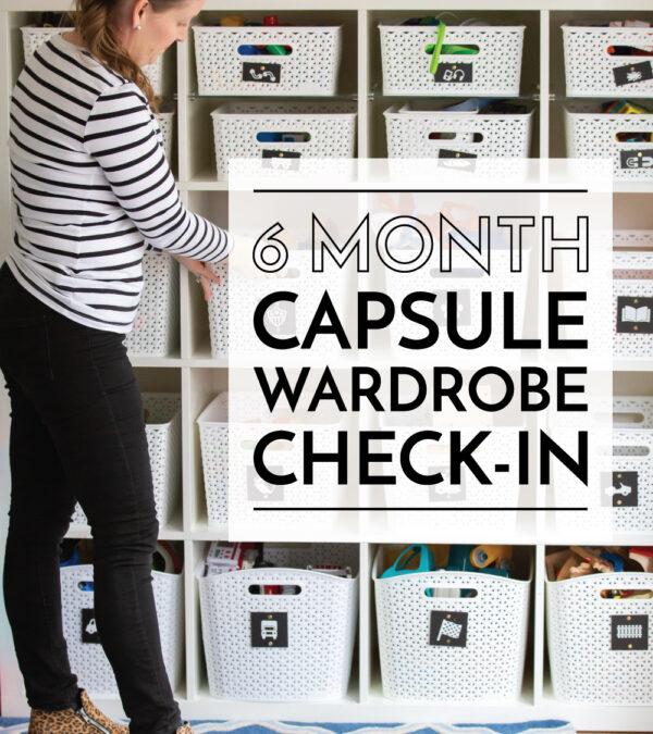 Capsule Wardrobe Check In