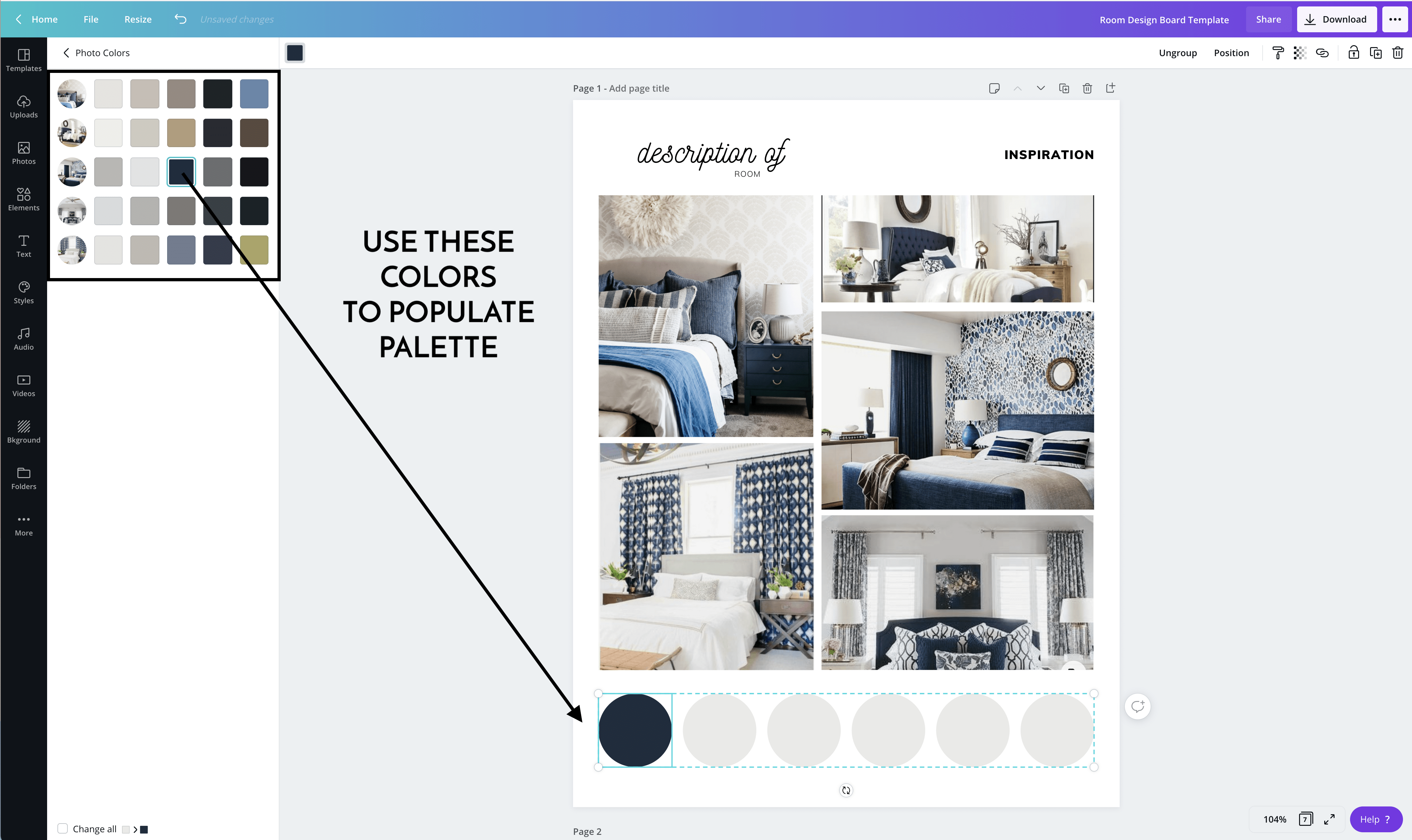How to Make Design Boards on Canva