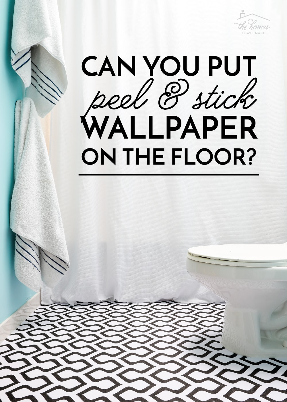 Can You Put Peel and Stick Wallpaper On the Floor