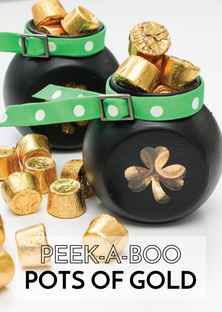 Pot of Gold Candy Jars