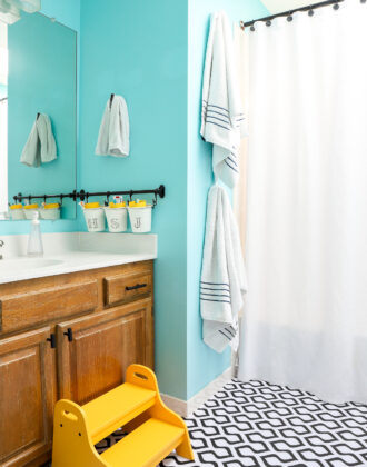 Rental Bathroom Makeover