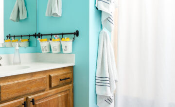 Rental Bathroom Makeover