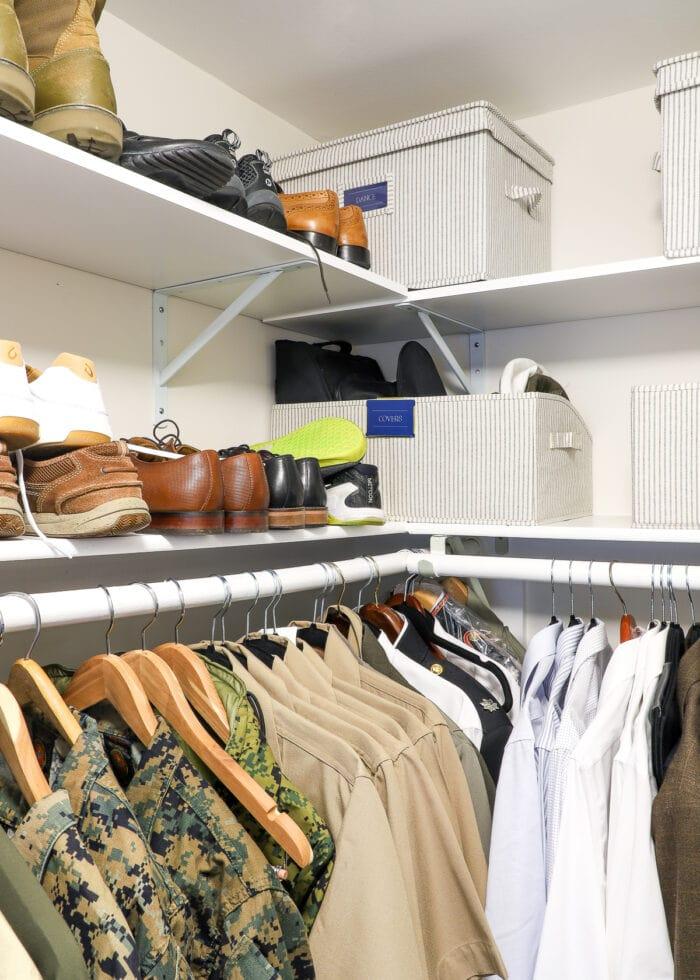 Master Closet Organization Ideas