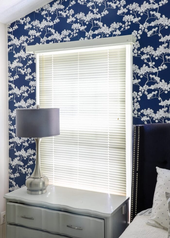 this bare window is the perfect spot for a window valance made from foam board