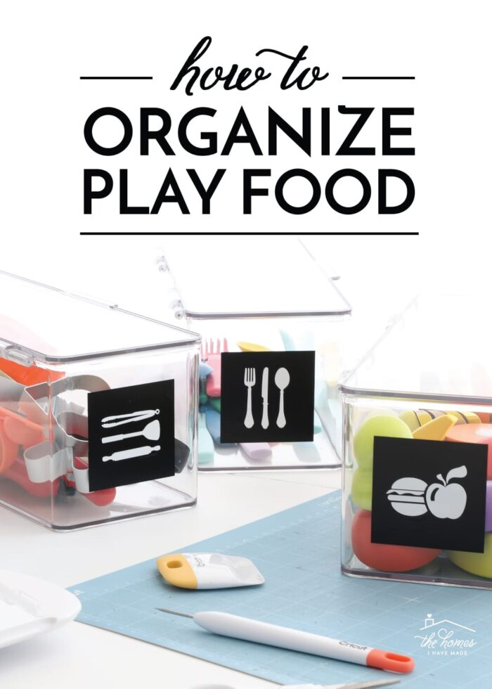 How to Organize Play Food
