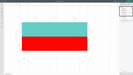 Mug design template in Cricut Design Space