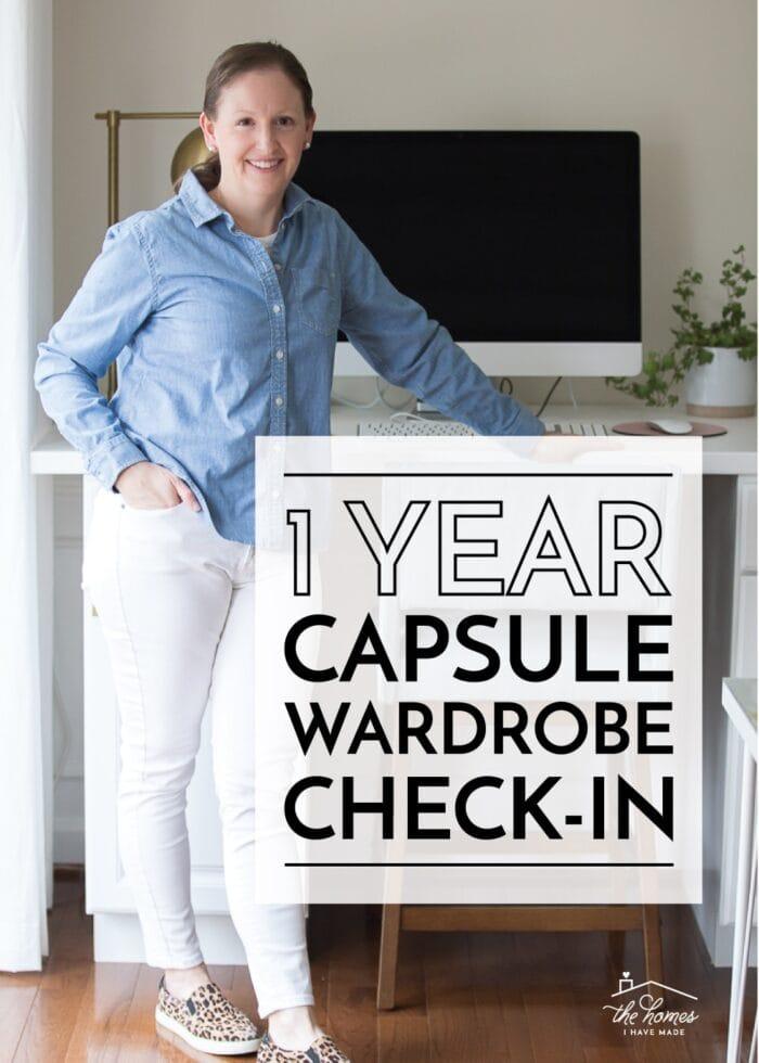 1 Year Capsule Wardrobe Check-In