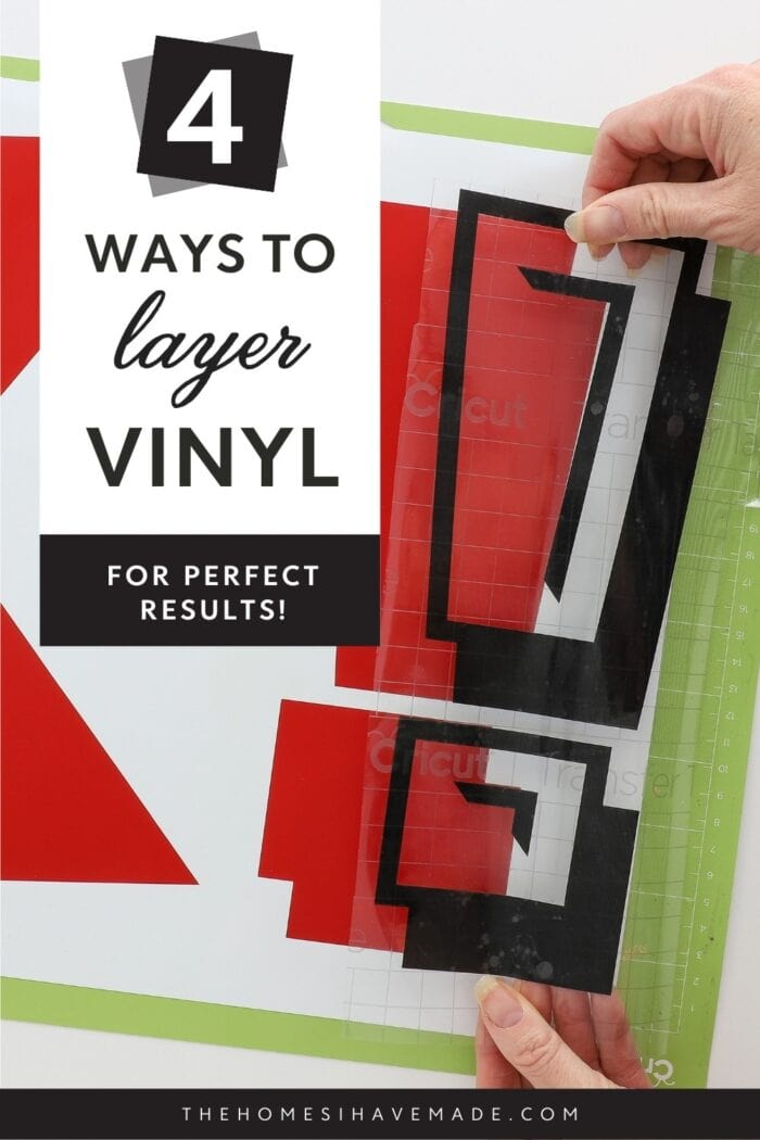 How to Layer Vinyl on Cricut Projects