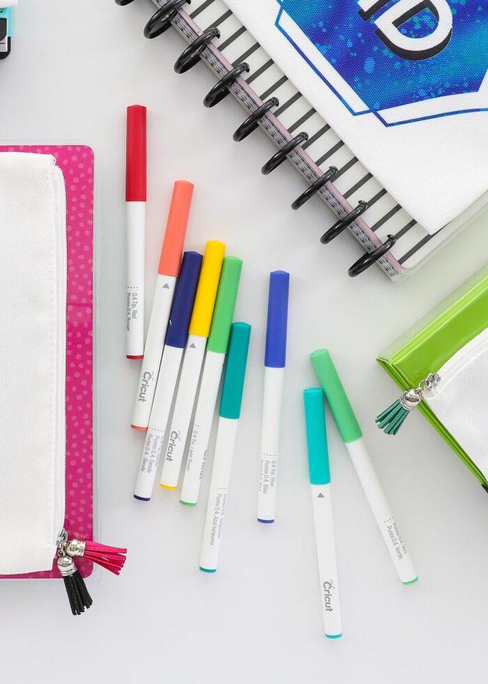 A variety of Cricut Pens.