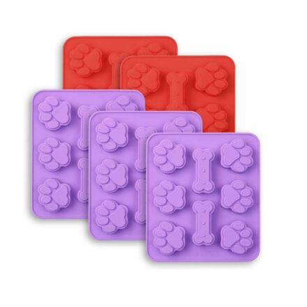 Dog Bone and Paw Print Candy Molds